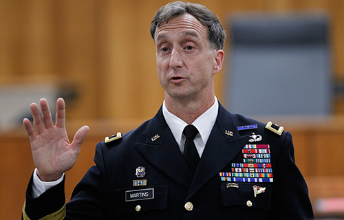 Brigadier General Mark S. Martins, photo credit:McGeorge School of Law