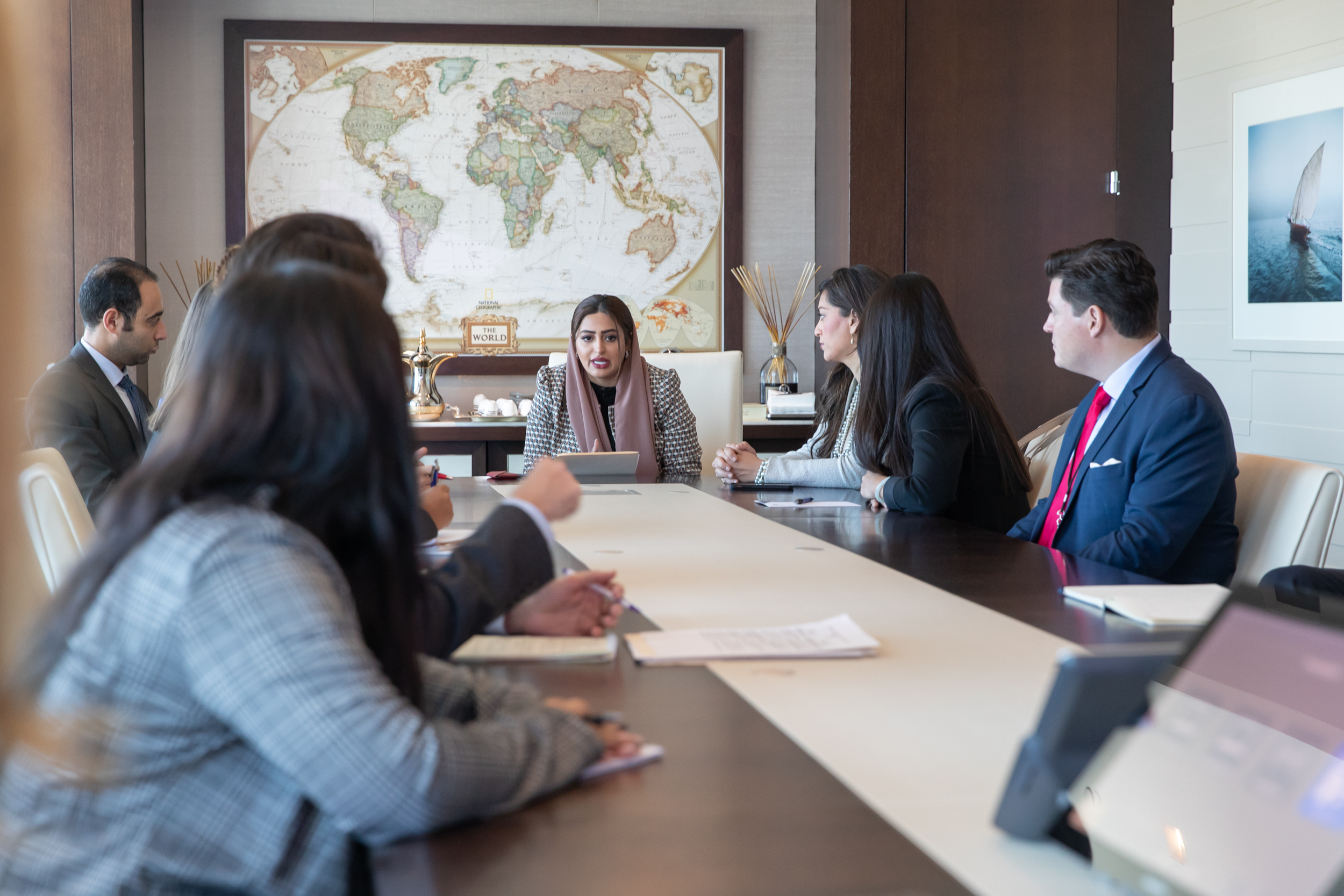 Washington, D.C. - October 2019  Emerging Leaders discuss Middle East policy with government officials, experts, and civil society leaders during a delegation to Washington, D.C., in October 2019.