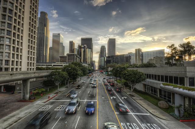 Downtown Los Angeles, CA - Credit: Flickr user Neil Kremer