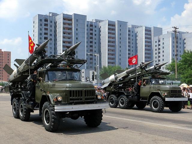 North Korea victory parade