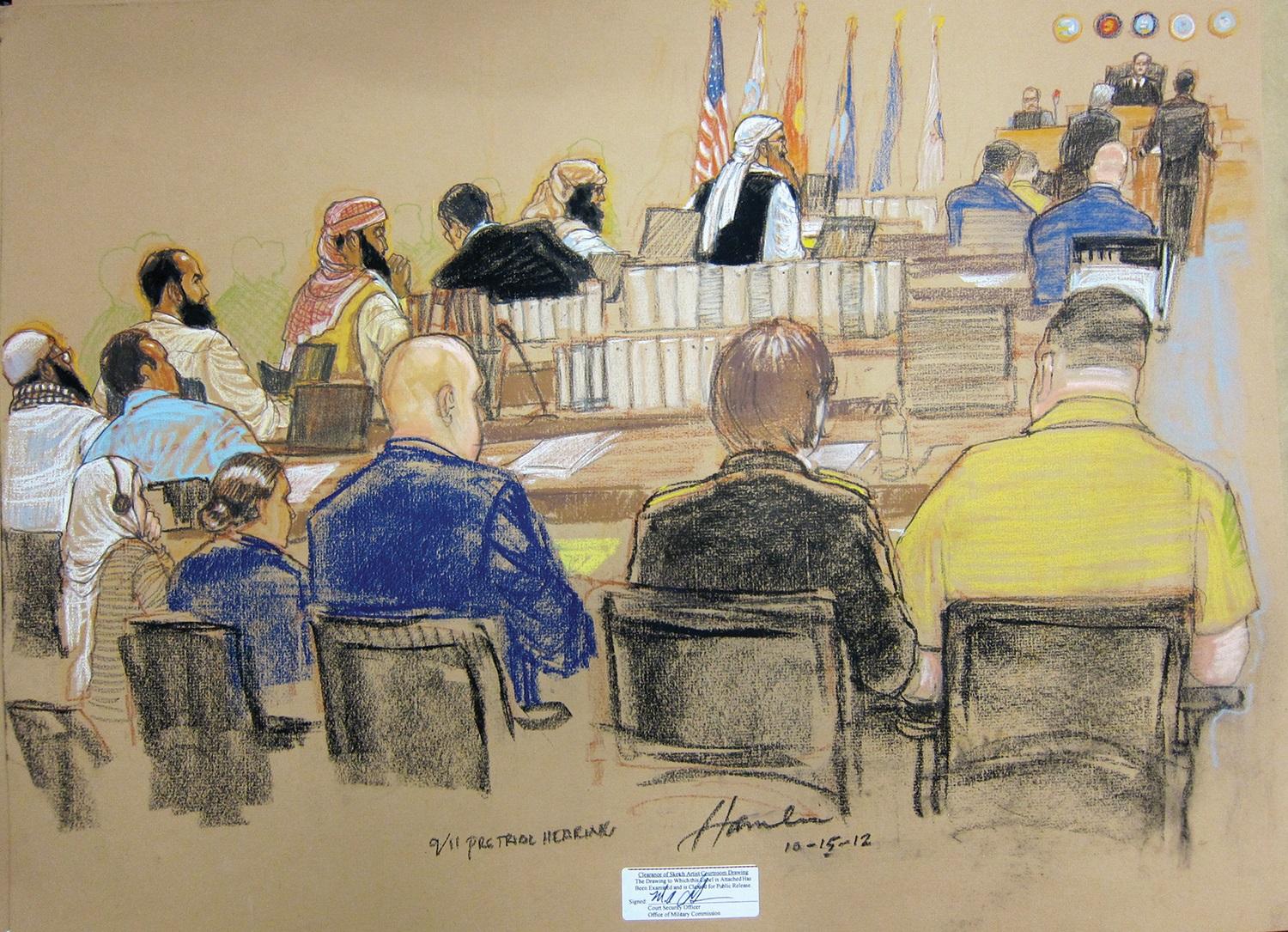 Photo credit: court artist Janet Hamlin