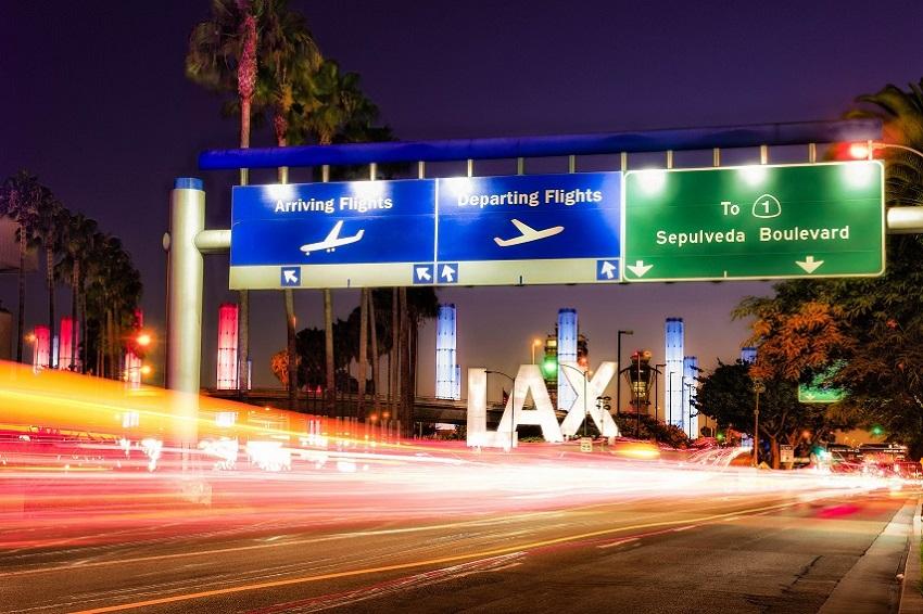 Los Angeles International Airport (LAX) - Credit: Flickr user Robert Pratt