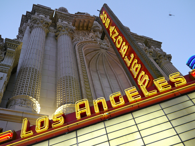 Los Angeles Theater (S. Charles Lee, architect) 1931 - Credit: Flickr user Christopher Lance
